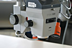 Photograph of a high-powered microscope, Library and Archives Canada, Gatineau Preservation Centre, 2006