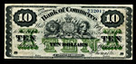 Counterfeit $10 bill, 1871
