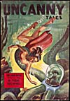 Cover of pulp magazine, UNCANNY TALES, volume 2, number 17 (May 1942)