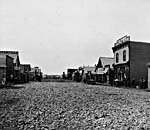 Photo of Main Steet, Calgary, Alberta, 1886