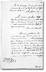 Land Petition, Upper Canada, 1806. Library and Archives Canada, RG 1 L3, vol. 426, R8/26, reel C-2741