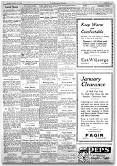 Eganville Leader, 6 January 1928, p. 5.