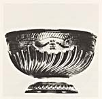 Photograph of the Stanley Cup, 1883