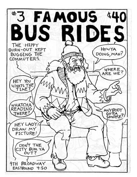 FAMOUS BUS RIDES, number 3 (8 page issue)