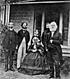 Susanna and John Moodie and family, ca 1866