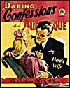 Cover of pulp magazine, DARING CONFESSIONS AND BURLESQUE volume 3 number 14 (June - July 1945)