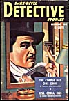 Cover of pulp magazine, DARE-DEVIL DETECTIVE STORIES, volume 1, number 7 (December 1941)