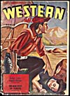 Cover of pulp magazine, BILL WAYNE'S WESTERN MAGAZINE, volume 1, number 2 (March 1942)