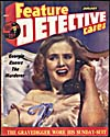 Cover of pulp magazine, FEATURE DETECTIVE CASES, volume 4, number 23 (January 1947)