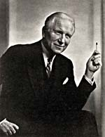 Photograph of Edward Johnson, General Manager, Metropolitan Opera Association (1935-1950)