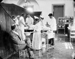 Photograph of operating room, Halifax, Nova Scotia, circa 1898-1907