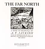Title page of A.Y. Jackson�s book titled THE FAR NORTH: A BOOK OF DRAWINGS, 1927
